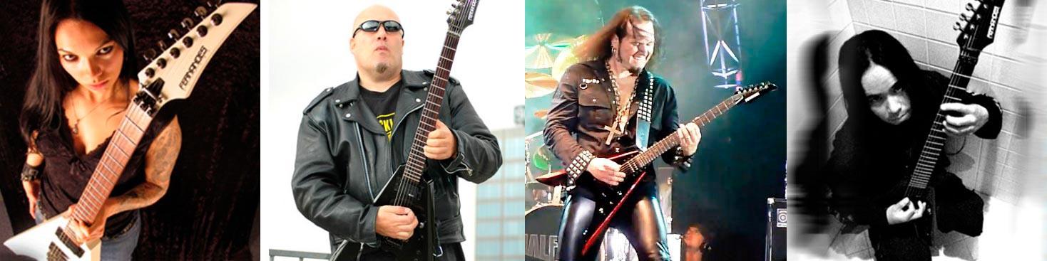 Stars with Vortex guitars