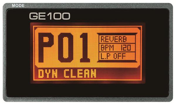 Процессор эффектов Mooer GE100 - ELTON.COM.UA