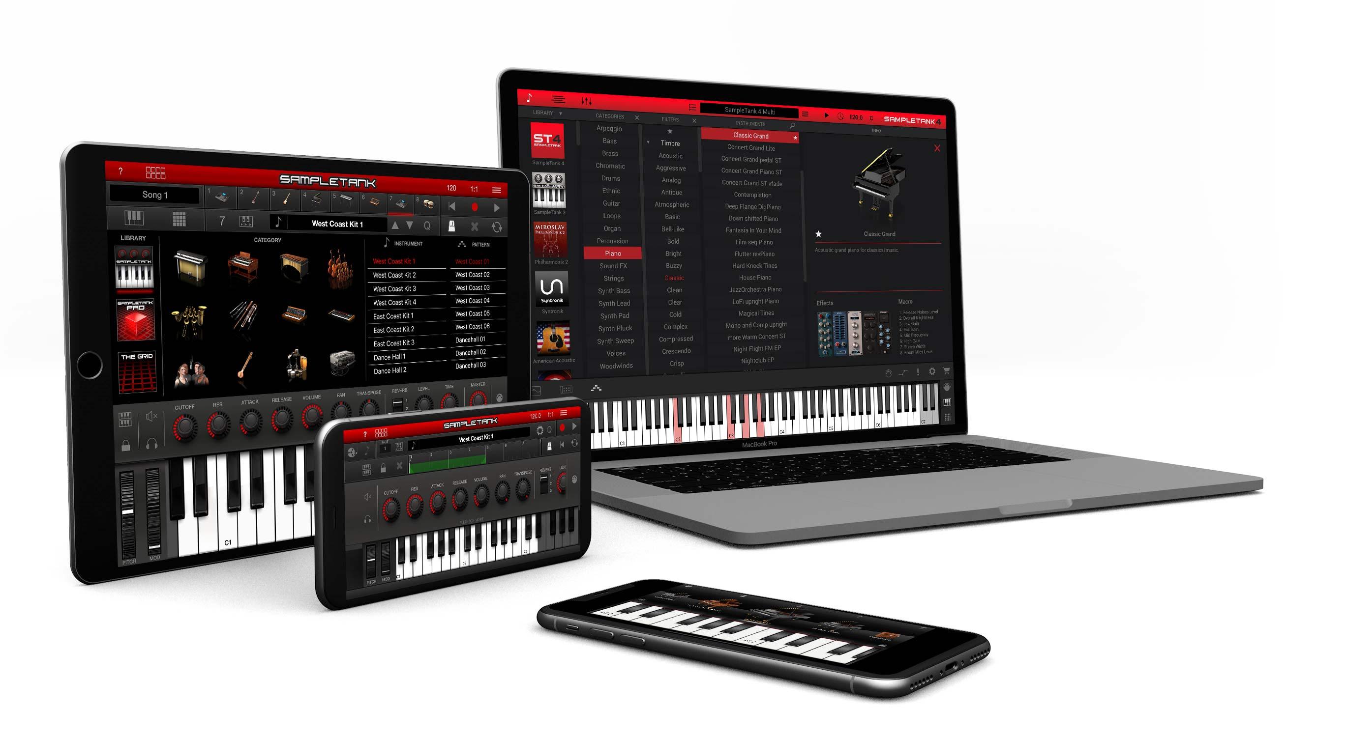 iRig Keys 2 програмне забезпечення