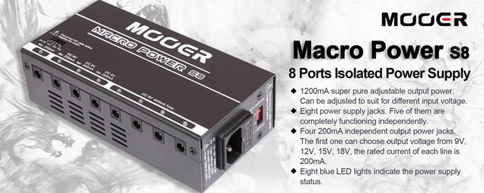 Mooer Macro Power - ELTON.COM.UA