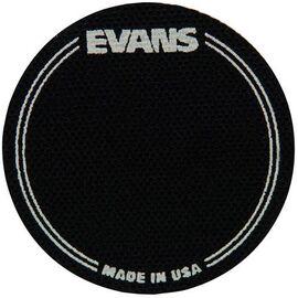 Кік-пед для бас-барабана EVANS EQPB1 EQ PATCH BLACK SINGLE, фото