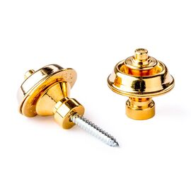 Стреплоки для ремней DUNLOP SLS1504G TRADITIONAL DESIGN GOLD, фото