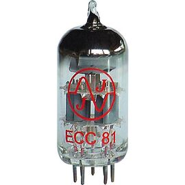 Лампа для усилителя JJ ELECTRONIC ECC81 (12AT7), фото