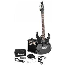 Набір для початківця гітариста IBANEZ IJRG200 BK, фото