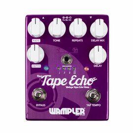 Гитарная педаль эффектов эхо дилей WAMPLER FAUX TAPE ECHO v2, фото