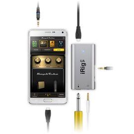 Гитарный процессор аудиоинтерфейс для Android устройств IK MULTIMEDIA iRIG UA, фото