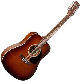 Акустическая гитара 12 Cedar Antique Burst. A&L 026548, фото