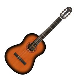 Классическая гитара 3/4 VALENCIA VC203CSB, фото