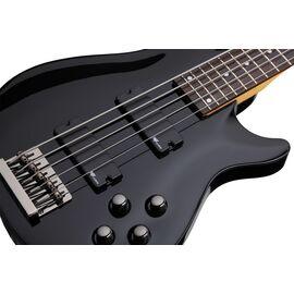 Бас-гитара C-5 BASS SGR BY SCHECTER BLK, фото 5