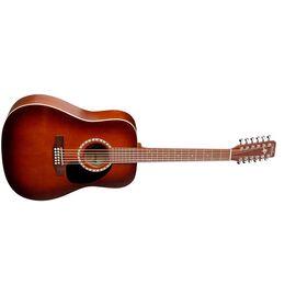 Акустическая гитара 12 Cedar Antique Burst. A&L 026548, фото 2