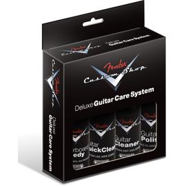 Засіб по догляду за інструментом FENDER CUSTOM SHOP DELUXE GUITAR CARE SYSTEM 4 PACK, фото
