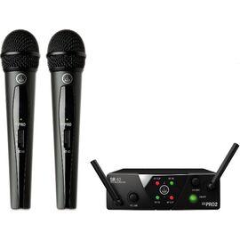 Микрофонная радиосистема AKG WMS40 Mini2 Vocal Set BD US25a/b, фото
