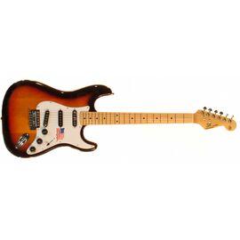 "Электрогитара (копия ""Fender Stratacaster"") SX FST/ALDER/3TS, фото 2"