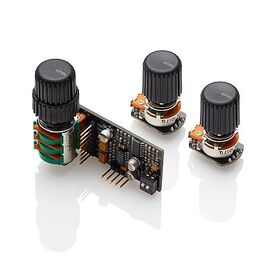 EMG BQS CONTROL SL- бас-эквалайзер: Mid Frequency & Mid E.Q.(на одной ручке) + Bass & Treble (раздельные), фото