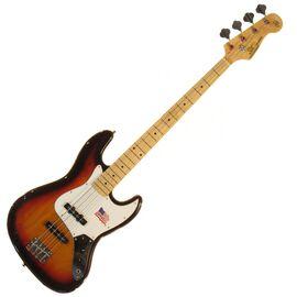 "Бас-гитара (копия ""Fender Jazz Bass"") SX FJB/ALDER/3TS, фото"
