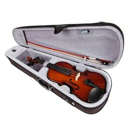 Скрипка 3/4, смычок, канифоль и чехол VALENCIA V400 3/4, фото