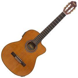 4/4 Классическая гитара с вырезом и подключением VALENCIA VC504CE, фото
