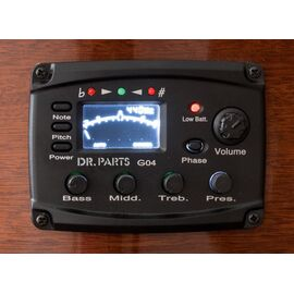 Еквалайзер 4-х смуговий з тюнером DR PARTS G04, фото