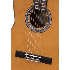 4/4 Классическая гитара с вырезом и подключением VALENCIA VC504CE, фото 4