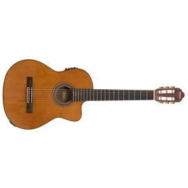 4/4 Классическая гитара с вырезом и подключением VALENCIA VC504CE, фото 2