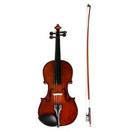 Скрипка 3/4, смычок, канифоль и чехол VALENCIA V400 3/4, фото 2