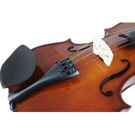 Скрипка 3/4, смычок, канифоль и чехол VALENCIA V400 3/4, фото 5