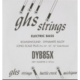 Одиночная струна для бас-гитары GHS STRINGS DYB85X, фото