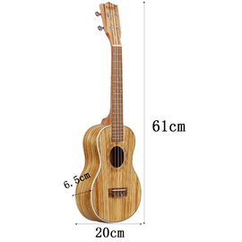 "Гавайська акустична гітара укулеле 24 "", фото 4"