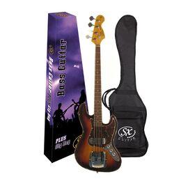 """Бас-гитара (копия """"Fender Jazz Bass"""") с чехлом SX FJB62C+/T/3TS, фото 5"""