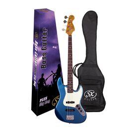 """Бас-гитара (копия """"Fender Jazz Bass"""") с чехлом SX FJB62+/LPB, фото 6"""