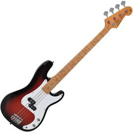 "Бас-гитара (копия ""Fender Precision Bass"") с чехлом SX FPB57+/2TS, фото"