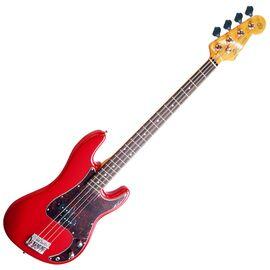 "Бас-гитара (копия ""Fender Precision Bass"") с чехлом SX FPB62+/FRD, фото"