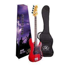 "Бас-гитара (копия ""Fender Precision Bass"") с чехлом SX FPB62+/FRD, фото 4"