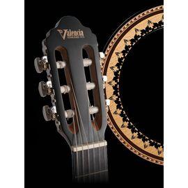 Класична гітара 1/4 VALENCIA VC201TBU, фото 7