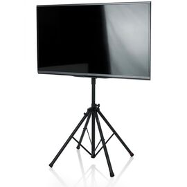 "Стійка для LCD / LED телевізора до 65 ""GATOR FRAMEWORKS GFW-AV-LCD-25 Deluxe Quadpod LCD / LED Stand, фото"