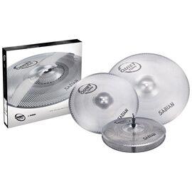 Набор тарелок SABIAN QTPC503 Quiet Tone Practice Cymbals Set, фото