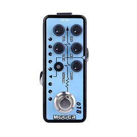 Гитарная педаль дисторшн преамп с кабинет эмуляцией MOOER 018 - CUSTOM 100, фото 4
