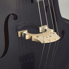 Контрабас STENTOR 1950LCBK Harlequin Rockabilly Double Bass 3/4 (Black), фото 2
