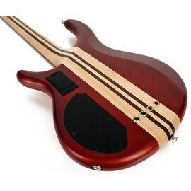 Бас-гитара CORT A4 Plus FMMH (Open Pore Black Cherry), фото 3