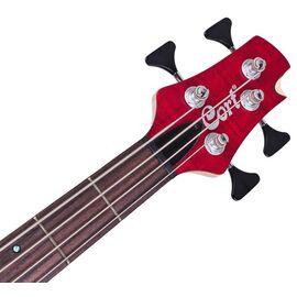 Бас-гитара CORT A4 Plus FMMH (Open Pore Black Cherry), фото 6