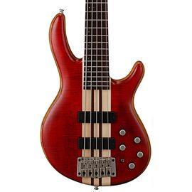 Бас-гитара CORT A5 Plus FMMH (Open Pore Black Cherry), фото 2