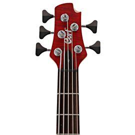 Бас-гитара CORT A5 Plus FMMH (Open Pore Black Cherry), фото 3