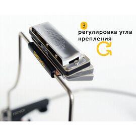 Держатель для губной гармошки SEYDEL The GECKO Harmonica Holder, фото 4
