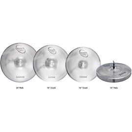Набор тарелок SABIAN QTPC504 Quiet Tone Practice Cymbals Set, фото 2