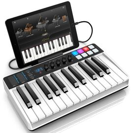 MIDI клавиатура / Аудиоинтерфейс IK MULTIMEDIA iRig Keys I/O 25, фото 5