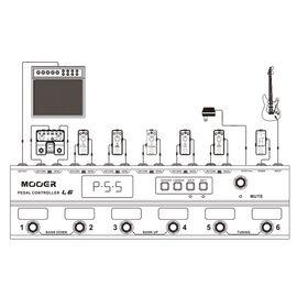 Футконтроллер MOOER PEDAL CONTROLLER PCL6, фото 6