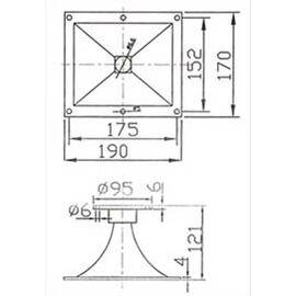 Рупор для акустичної системи SOUNDKING SKFD001, фото 2