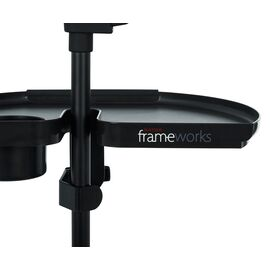 Підставка для аксесуарів GATOR FRAMEWORKS GFW-MICACCTRAYXL Mic Stand Accessory Tray XL, фото 5