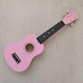 """Укулеле сопрано 21 """", pink, фото"""