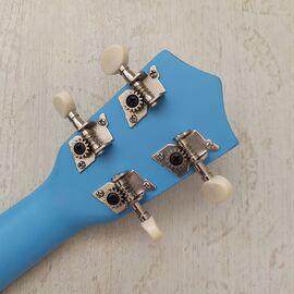 """Укулеле сопрано 21 """", light blue, фото 4"""